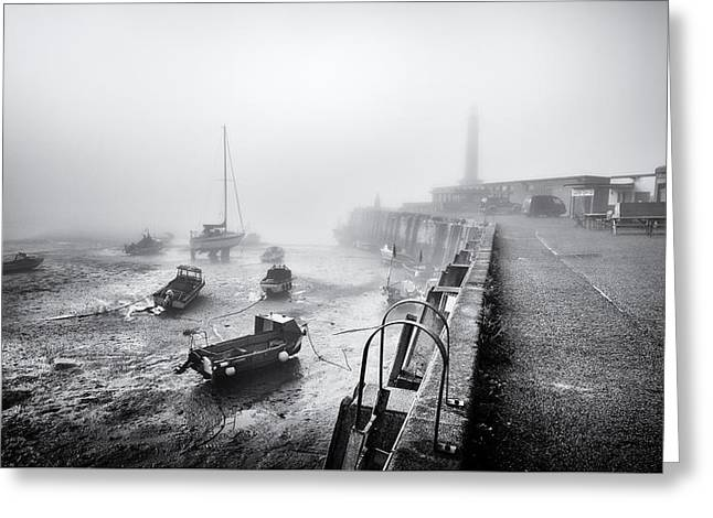 Margate Harbour Greeting Card