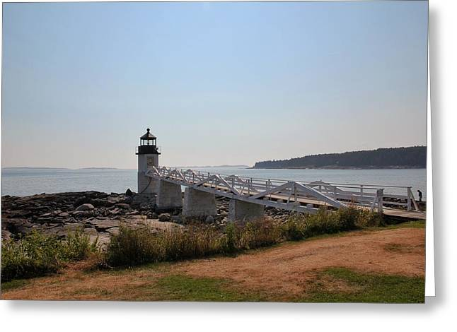 Marshall Point Greeting Card by Luisa Azzolini