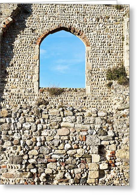 Medieval Ruins Greeting Card