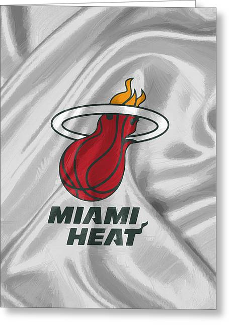 Miami Heat Greeting Card