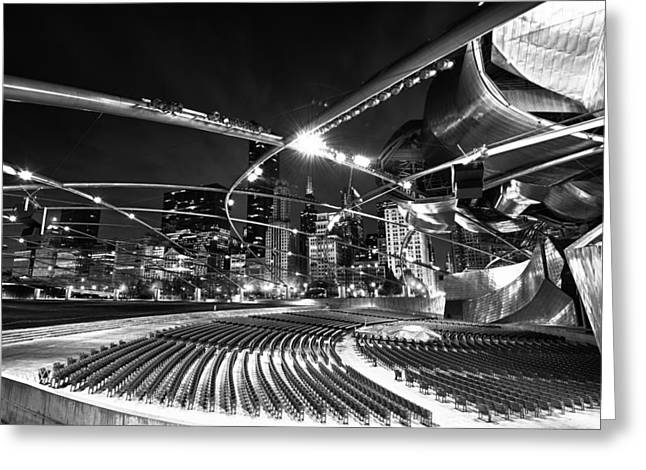 Millennium Park Greeting Card by Sebastian Musial