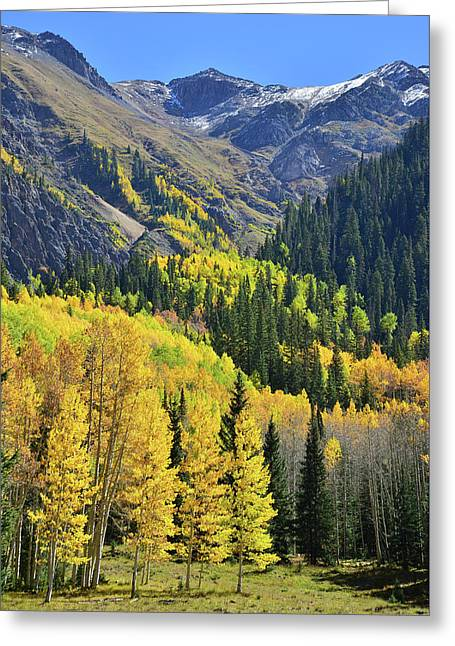 Greeting Card featuring the photograph Million Dollar Highway  by Ray Mathis
