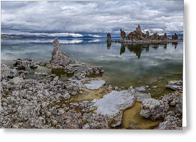 Mono Lake Greeting Card by Cat Connor