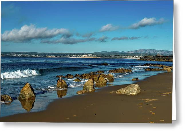 Monterey Bay Greeting Card by Mountain Dreams