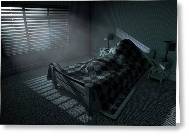 Moonlight Sleep In Greeting Card