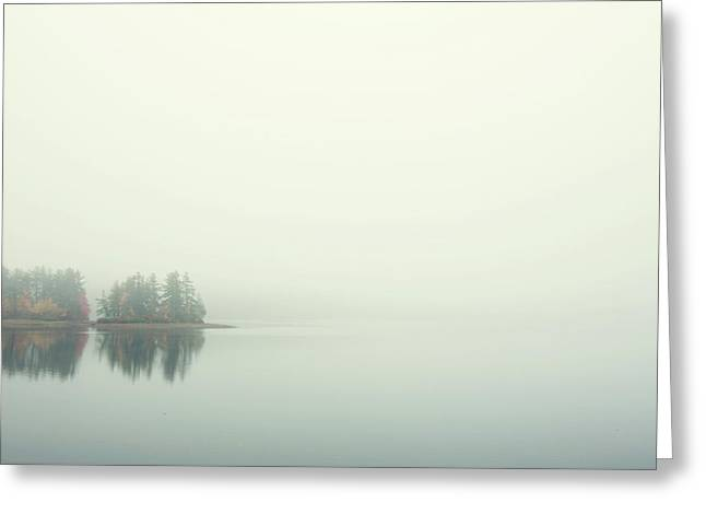 Morning Fog Greeting Card
