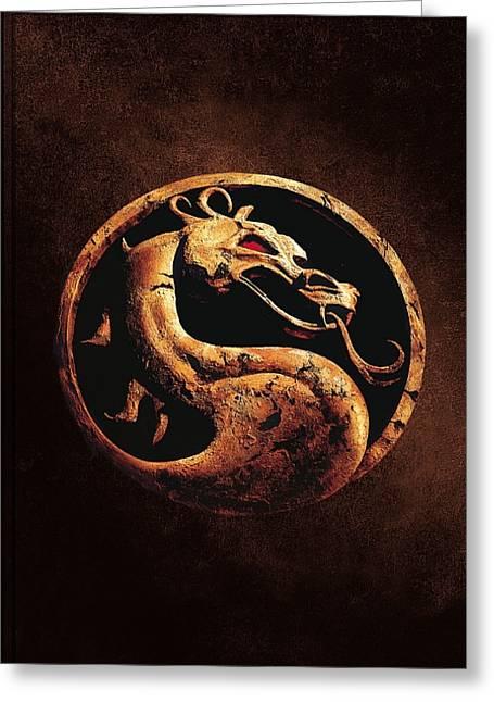 Mortal Kombat 1995  Greeting Card