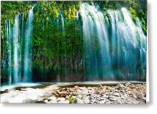 Mossbrae Falls Greeting Card by Bryant Coffey