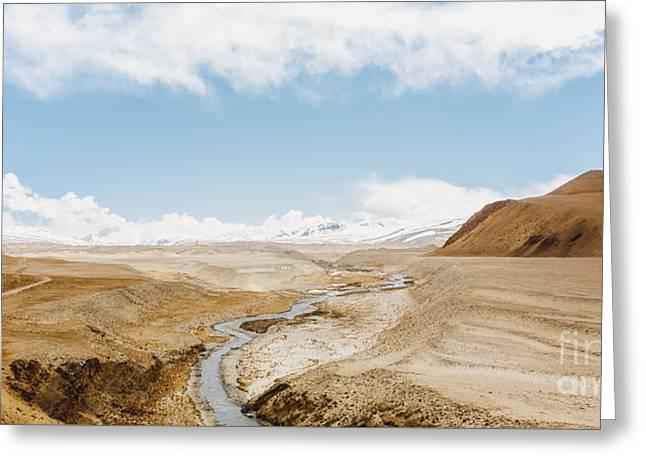 Greeting Card featuring the photograph Mount Everest by Setsiri Silapasuwanchai