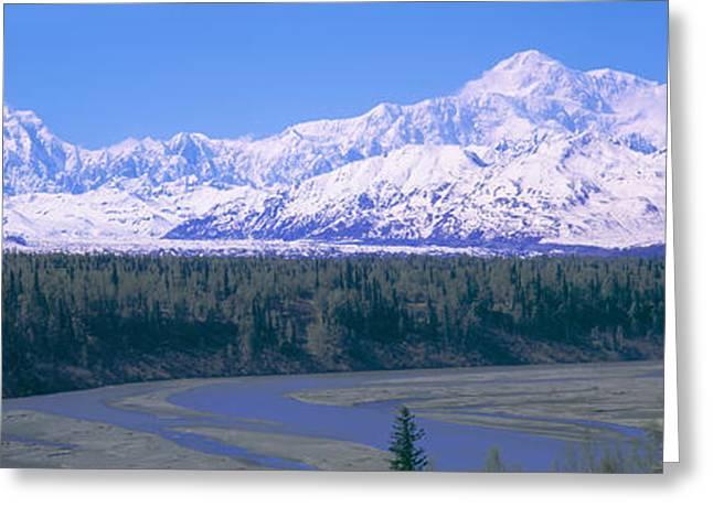 Mount Mckinley, Alaska Greeting Card by Panoramic Images