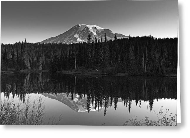 Mount Rainier National Park Greeting Card by Brendan Reals