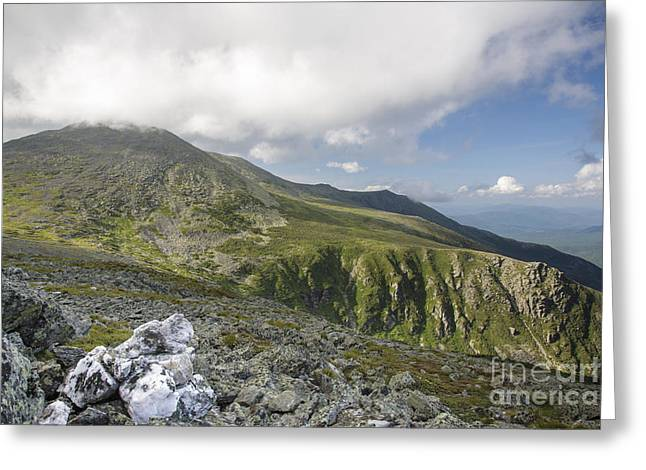 Satisfaction Greeting Cards - Mount Washington - White Mountains New Hampshire Greeting Card by Erin Paul Donovan