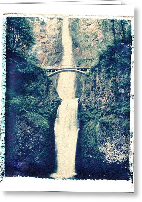 Multnoma Falls Greeting Card