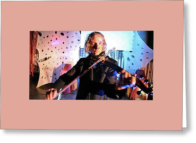 Musik Greeting Card by Alexander Meyen Loopkuenstler