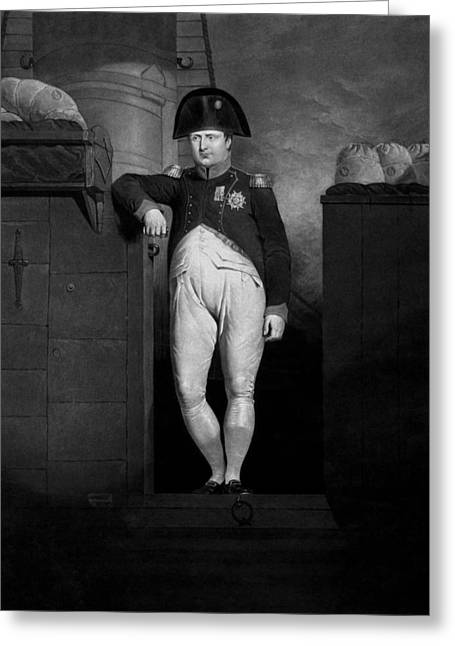 Napoleon Bonaparte Greeting Cards - Napoleon Bonaparte Greeting Card by War Is Hell Store
