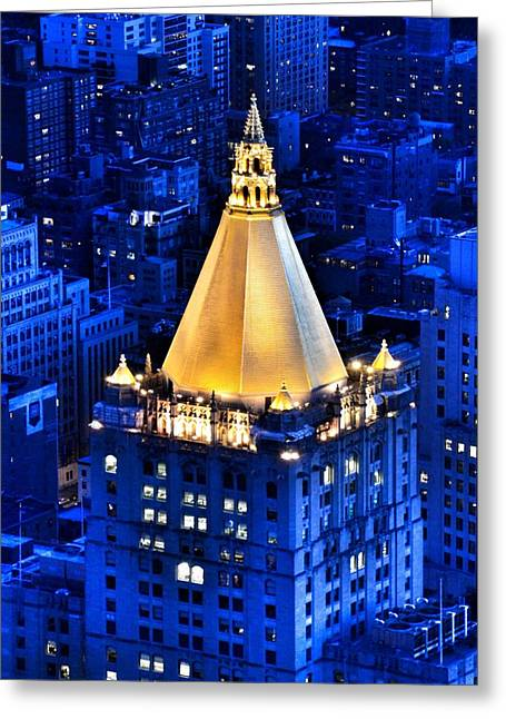 New York Life Building Greeting Card