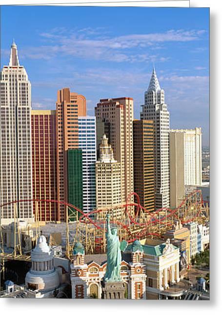 New York, New York Casino, Las Vegas Greeting Card