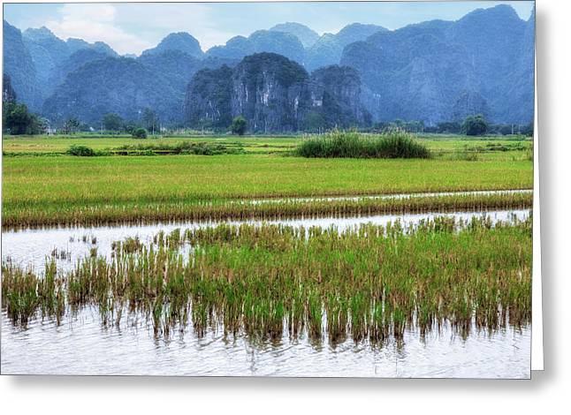 Ninh Binh - Vietnam Greeting Card