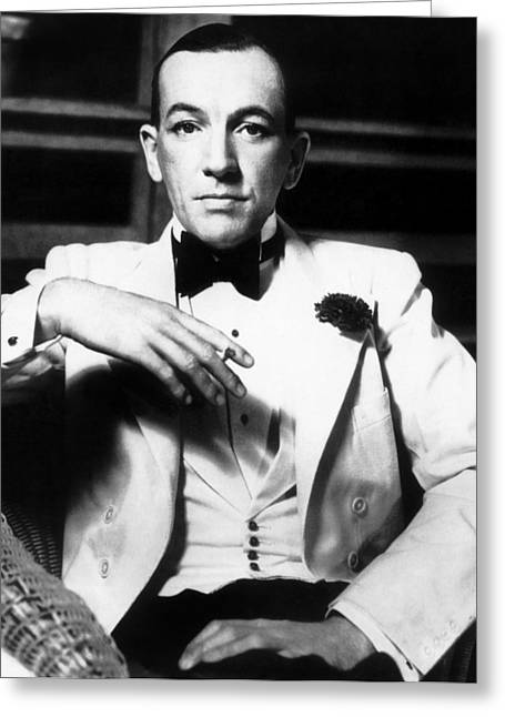 1930s Portraits Greeting Cards - Noel Coward (1899-1973) Greeting Card by Granger