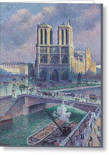 Notre-dame De Paris Greeting Card