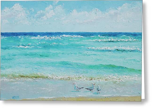 Ocean Breeze Greeting Card by Jan Matson
