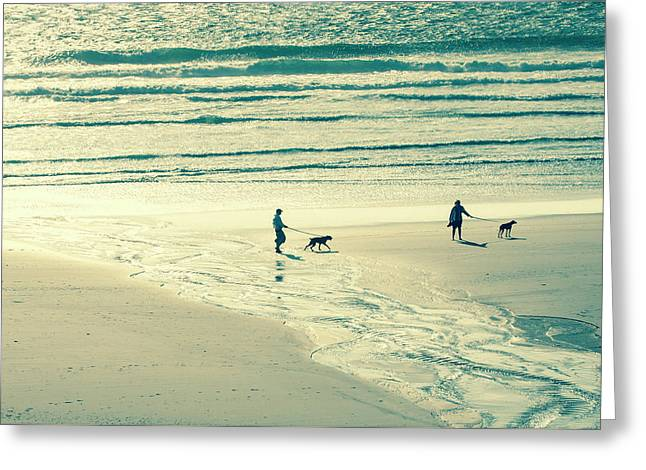 Oceanside Oregon Greeting Card by Amyn Nasser