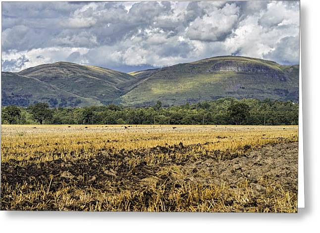 Ochil Hills Greeting Card by Jeremy Lavender Photography