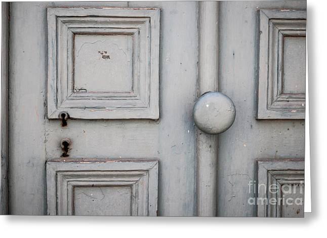 Old Door Detail Greeting Card by Elena Elisseeva