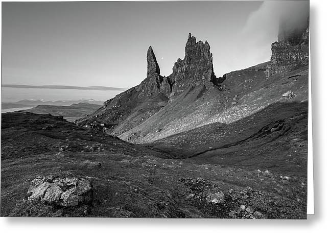 Old Man Of Storr Greeting Card by Davorin Mance