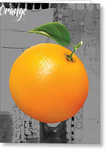 Orange Collection Greeting Card