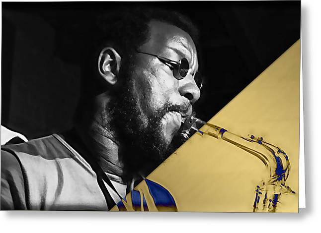 Ornette Coleman Collection Greeting Card