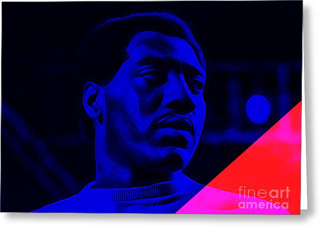 Otis Redding Collection Greeting Card by Marvin Blaine