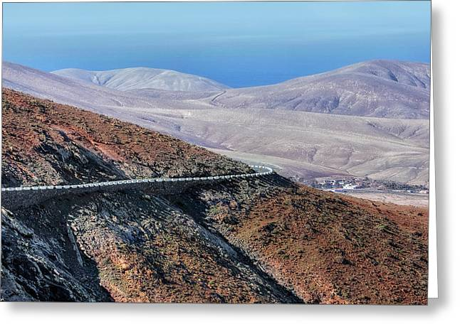 Parque Rural De Betancuria - Fuerteventura Greeting Card by Joana Kruse