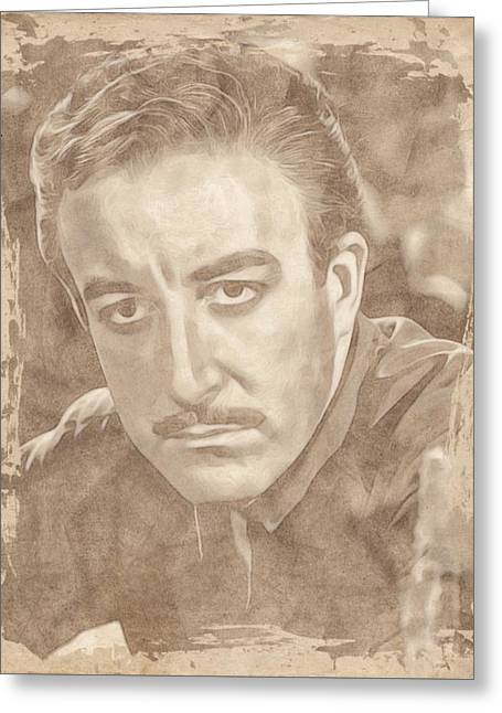 Peter Sellers By John Springfield Greeting Card by John Springfield