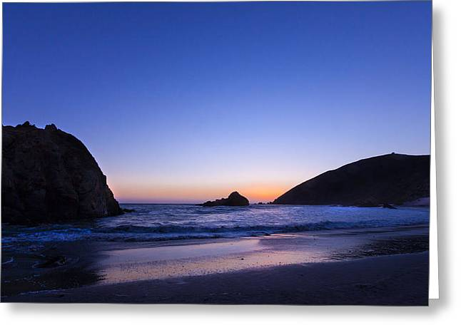 Pfeiffer Beach Greeting Card by Alexander Fedin