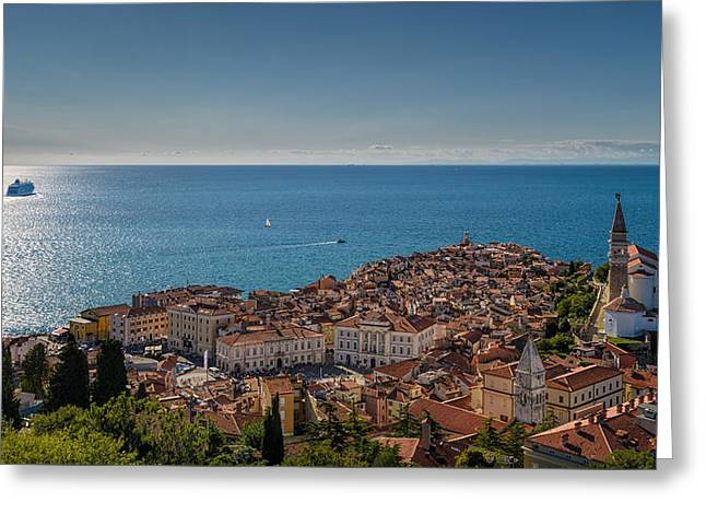 Piran Greeting Card