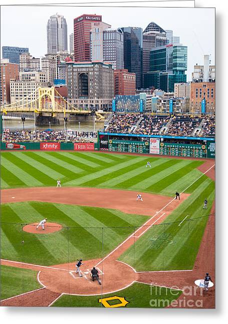Pnc Park Pittsburgh Pennsylvania Greeting Card