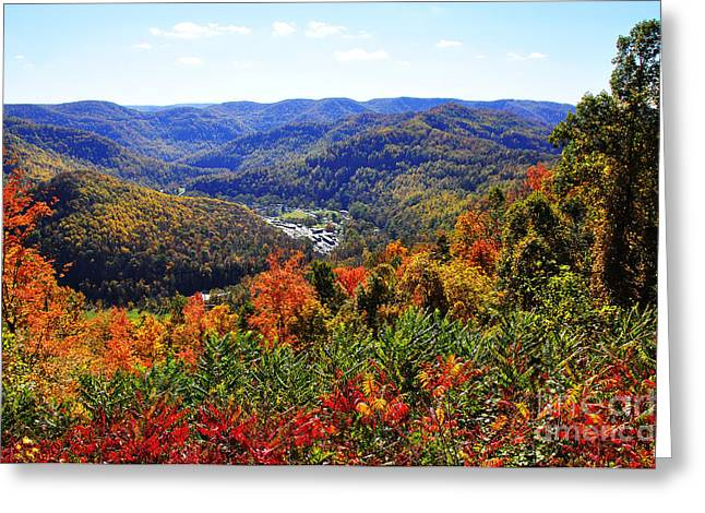 Point Mountain Overlook Greeting Card