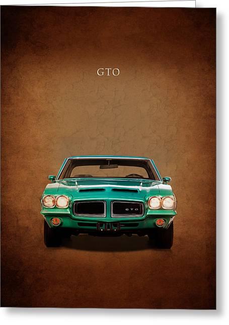 Pontiac Gto Greeting Card by Mark Rogan