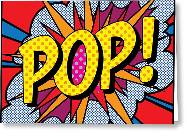 Pop Art - 4 Greeting Card