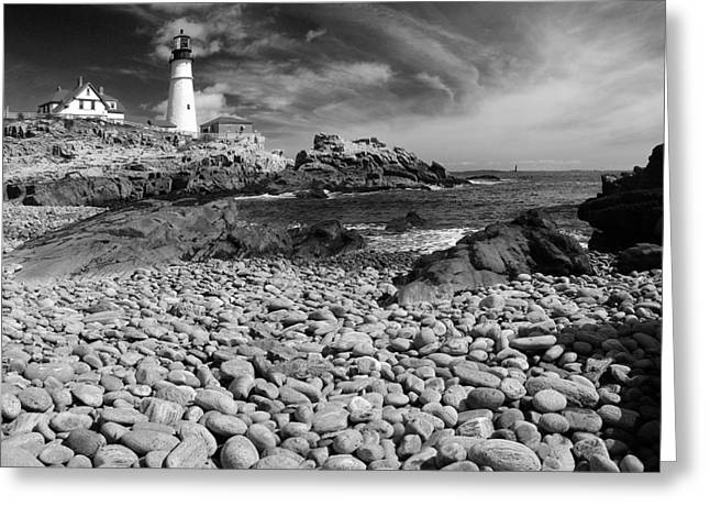 Portland Head Light Greeting Card