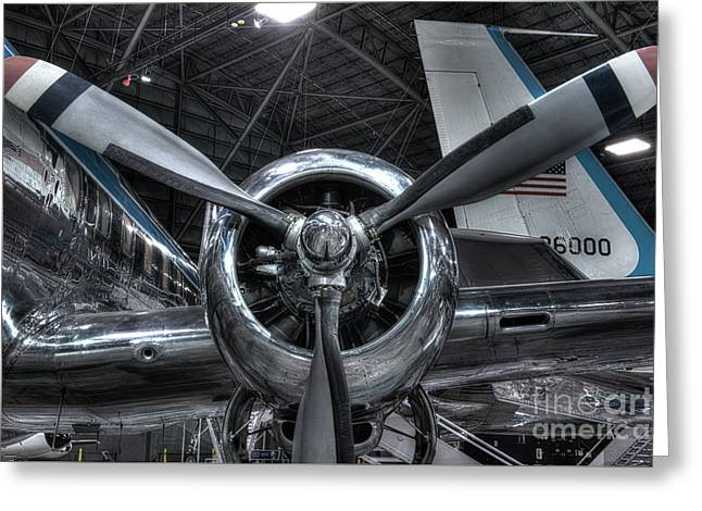 Pratt And Whitney R-2800 - Douglas Vc-118 - The Independence  Greeting Card