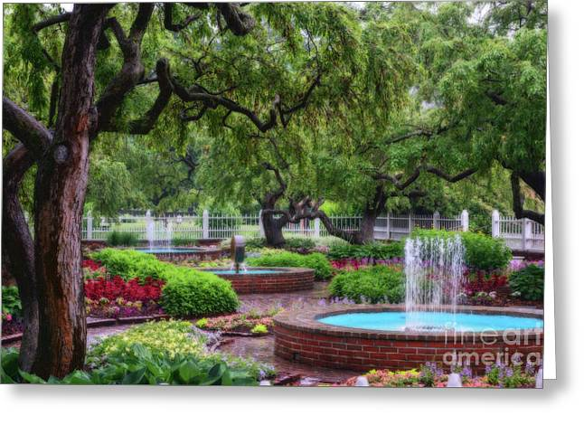 Greeting Card featuring the photograph Prescott Park by Sharon Seaward