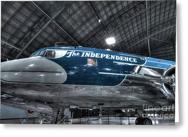 Presidential Aircraft, Douglas, Vc-118, The Independence  Greeting Card