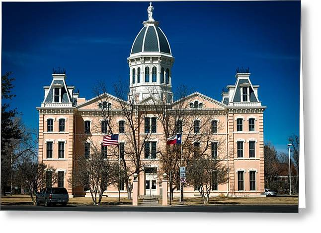 Presidio County Courthouse Greeting Card by Mountain Dreams