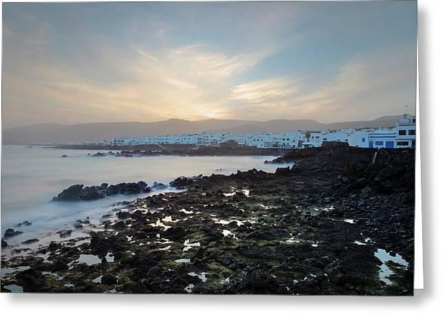 Punta Mujeres - Lanzarote Greeting Card by Joana Kruse