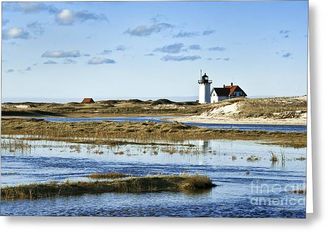 Race Point Lighthouse Greeting Card