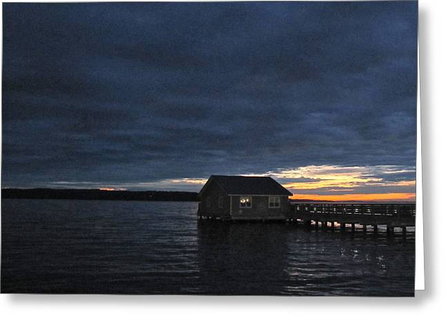 Redondo Pier Greeting Card by Sean Griffin