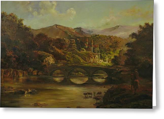 Renoir Lives Here Greeting Card by Tigran Ghulyan