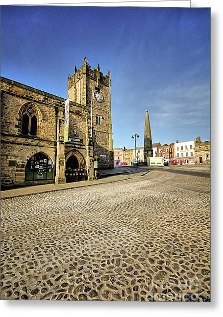 Richmond, North Yorkshire Greeting Card by Nichola Denny